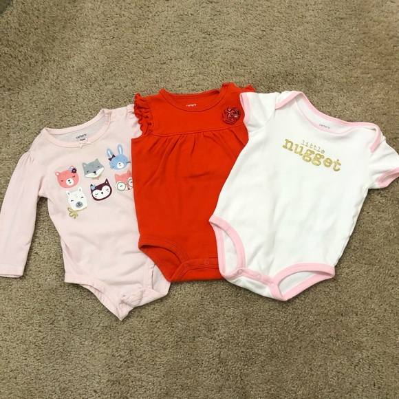 Carter's Other - Carter's 6 Month Onesies